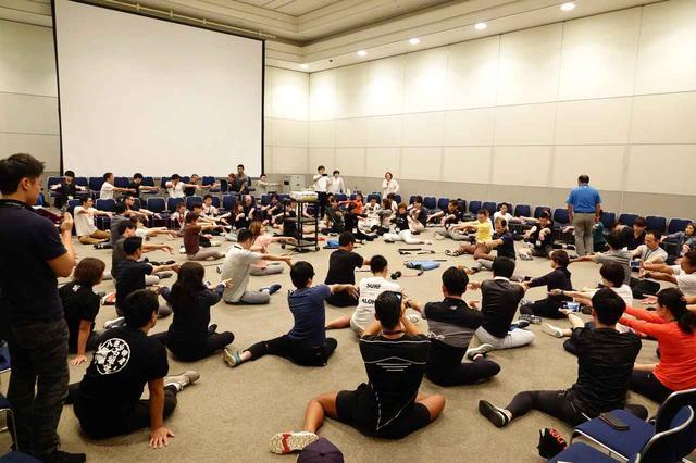 画像: ゴルフインストラクターやトレーナー、理学療法士など70名以上がTPIを受講した