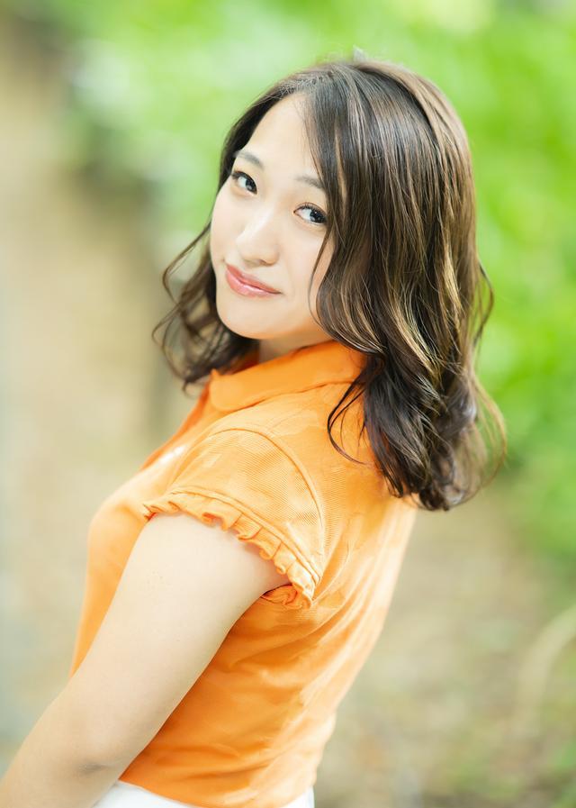 画像: 「好きなゴルファーは、成田美寿々プロです」