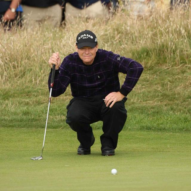 画像: 10年前の全英オープンでトム・ワトソンは59歳でのメジャー制覇という奇跡を起こす寸前までいった(写真は2009年の全英オープン 撮影/岩井基剛)