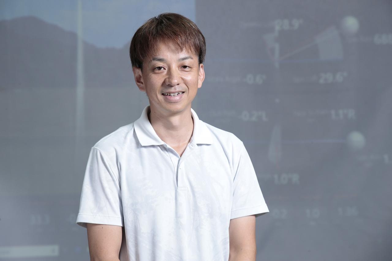画像: 石塚博さんは45歳でゴルフ歴15年。HC14.8の腕前。スライスが悩みだという