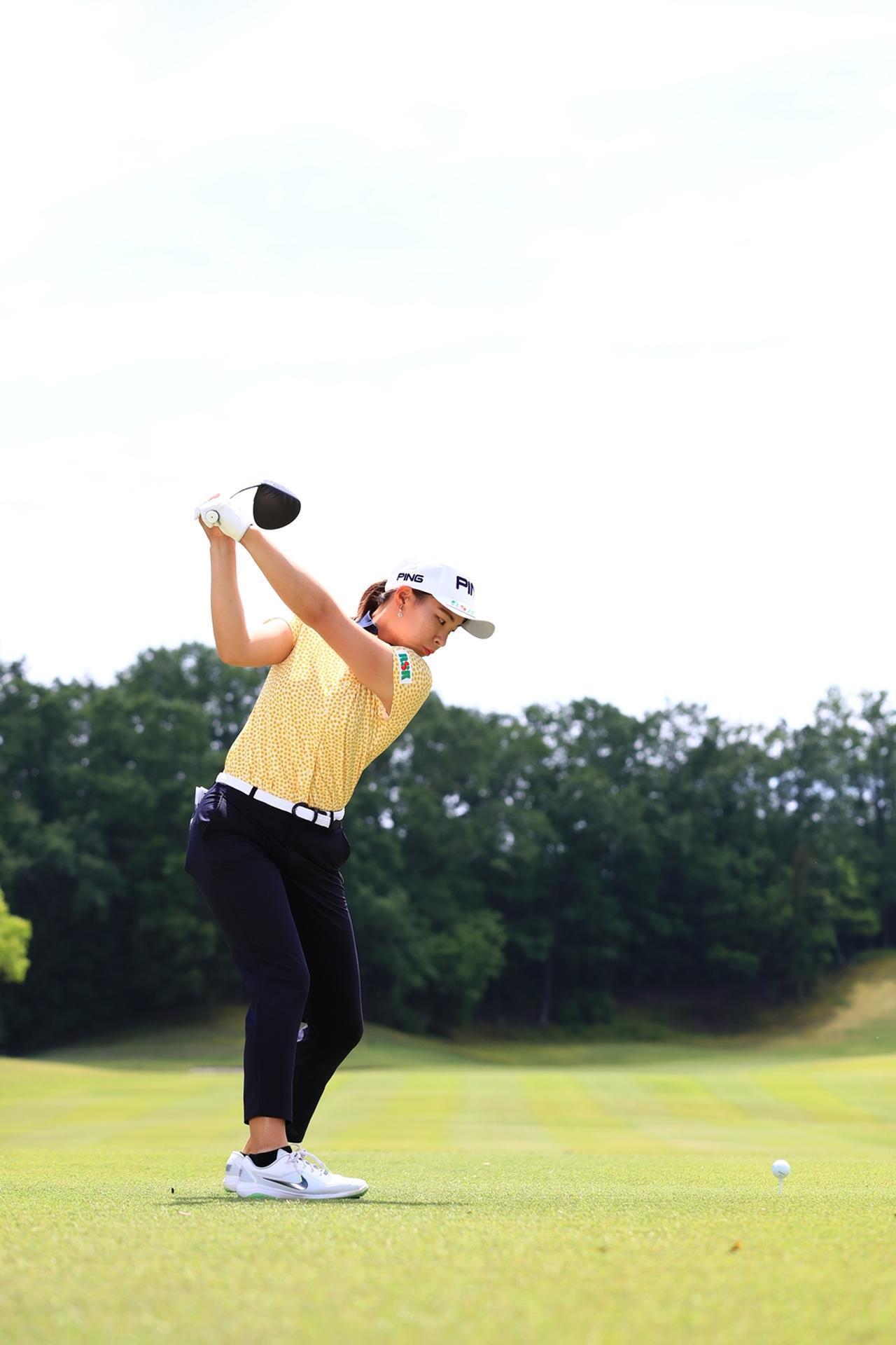 Images : 9番目の画像 - 渋野日向子のドライバー後方連続写真 - みんなのゴルフダイジェスト