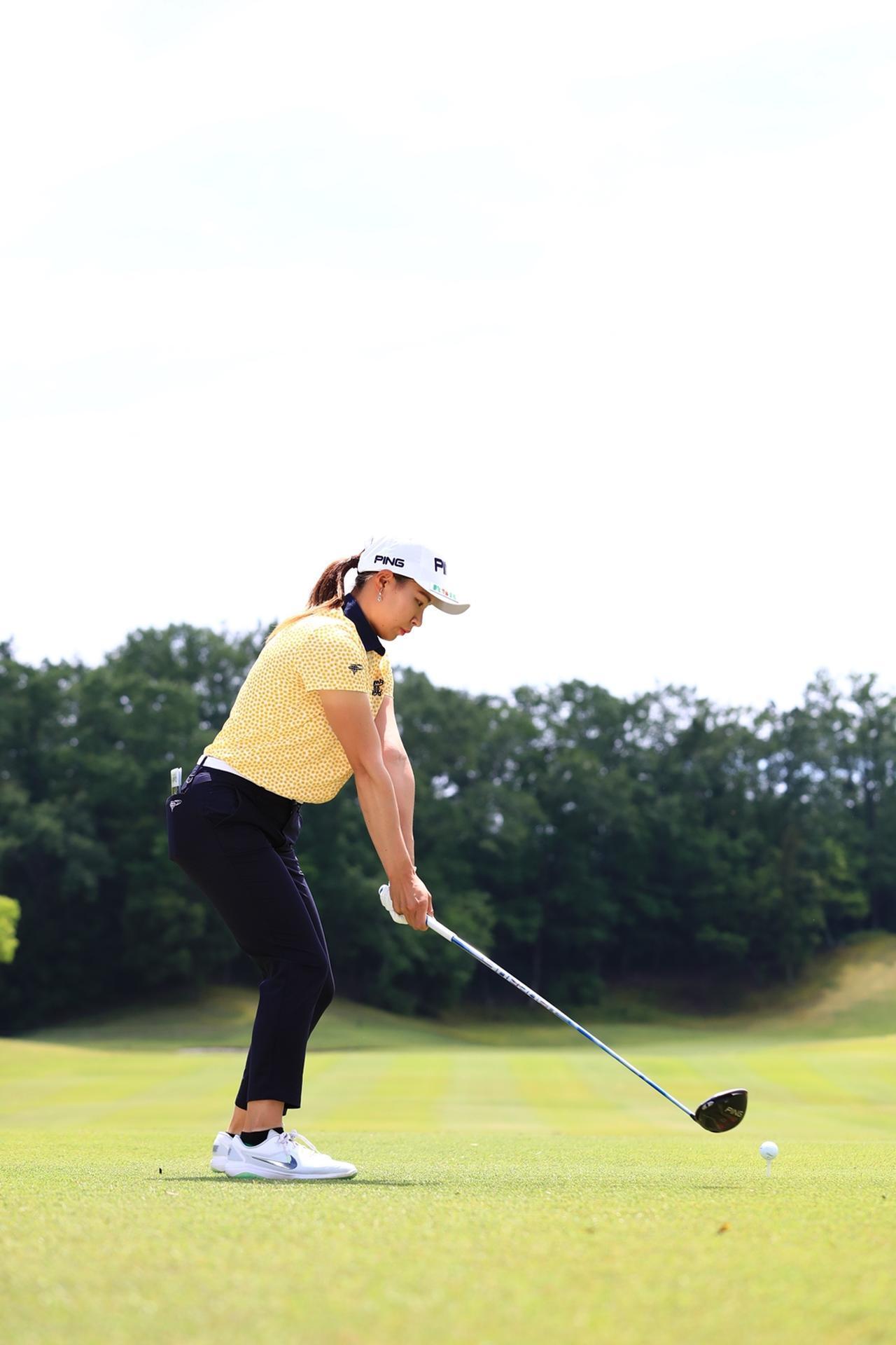 Images : 2番目の画像 - 渋野日向子のドライバー後方連続写真 - みんなのゴルフダイジェスト