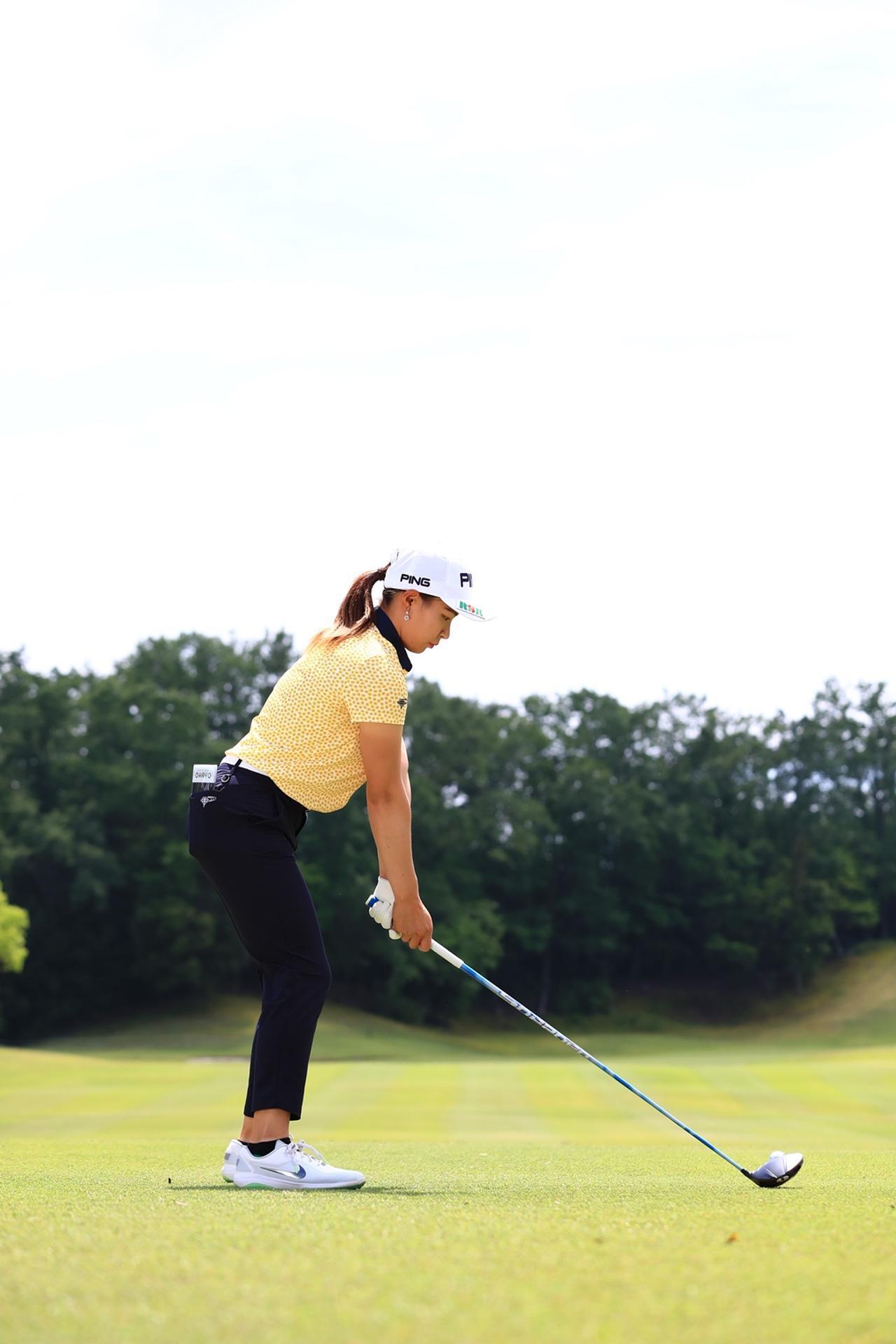 Images : 1番目の画像 - 渋野日向子のドライバー後方連続写真 - みんなのゴルフダイジェスト