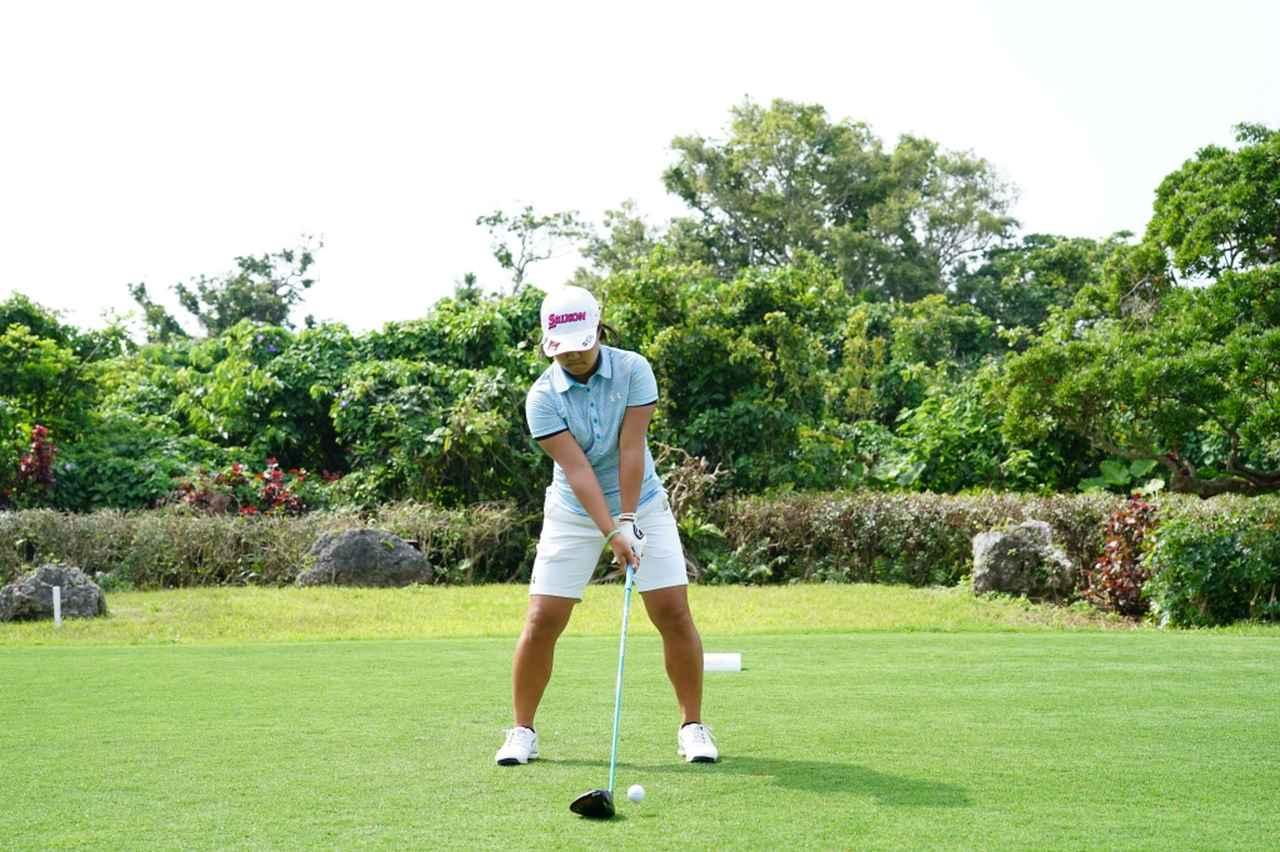 Images : 1番目の画像 - 畑岡奈紗のドライバー連続写真 - みんなのゴルフダイジェスト