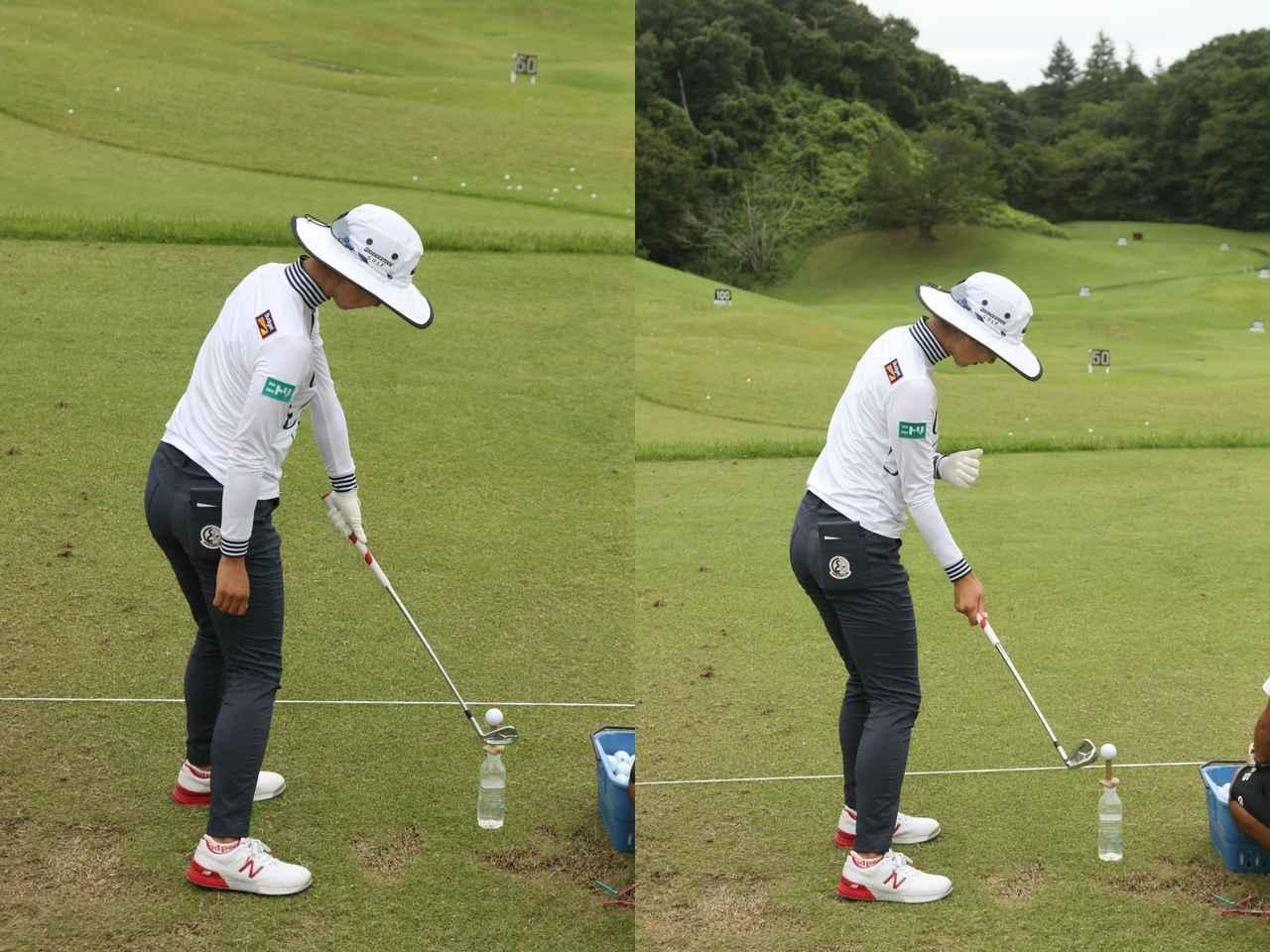 画像: 左手一本(写真左)、右手一本(写真右)など、工夫して練習している