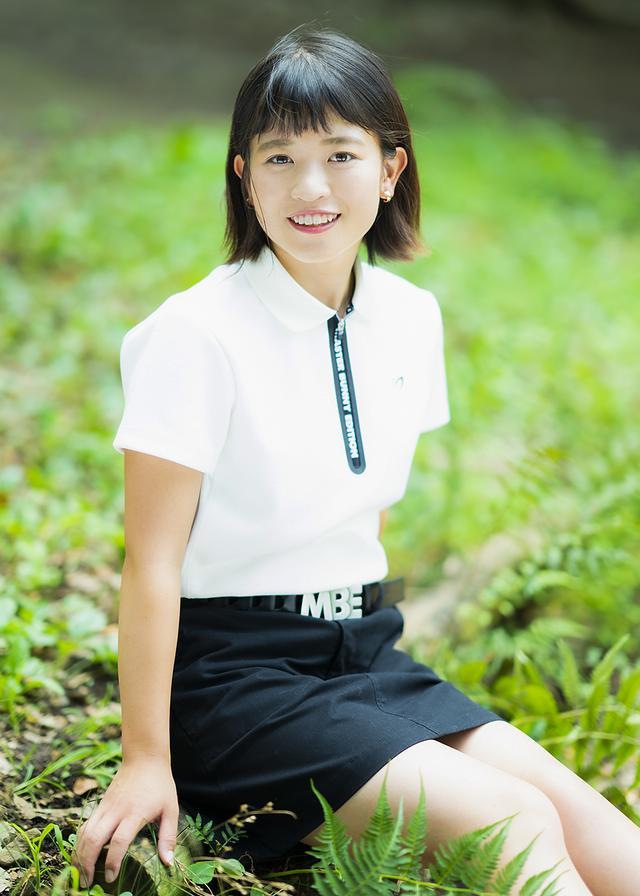 画像: 「好きなプロゴルファーは、成田美寿々プロです」