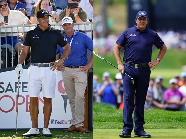 画像: 写真右は今年の全米プロゴルフ選手権。見比べてみると顔やお腹周りがスッキリしている(写真左はGetty Images)