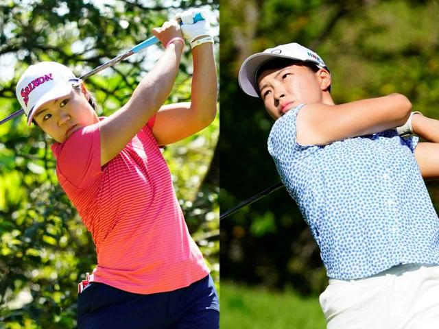 画像: 日本女子プロを制した畑岡と全英女子オープンを制した渋野はどちらもピンの根元を狙うゴルフだ