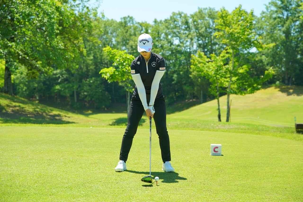 Images : 1番目の画像 - 柏原明日架のドライバー連続写真 - みんなのゴルフダイジェスト