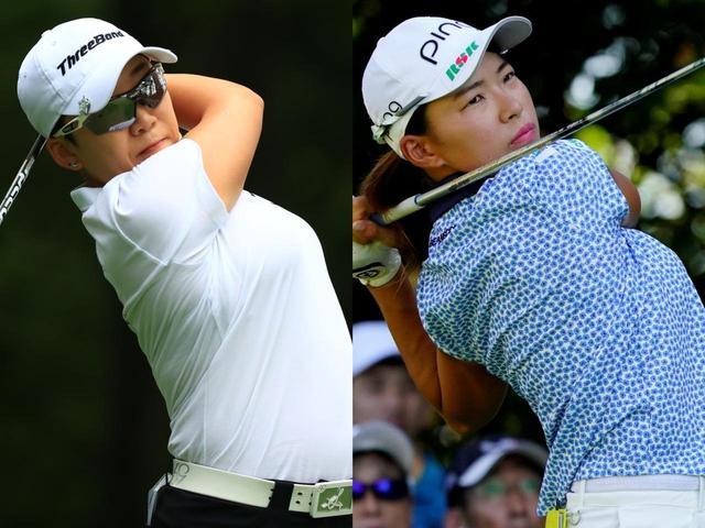 画像: 現在賞金ランク1位のシンジエ(左)か2位の渋野日向子(右)か、はたまた……果たして今シーズン賞金女王に輝くのはどの選手!?