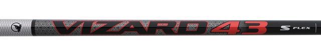 画像: 「VIZARD43」は長さ45.25インチと、ドライバーで主流の46インチよりも少し短め