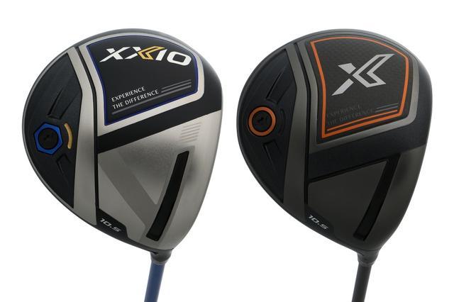 画像: ゼクシオ11代目は「ゼクシオ11(イレブン)」(写真左)と「ゼクシオX(エックス)」(写真右)の2モデルをラインナップ