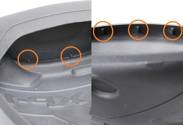 画像: フェース裏側に5つのリブを配置することでフェース周りの剛性を高める「5FANGテクノロジー」を搭載