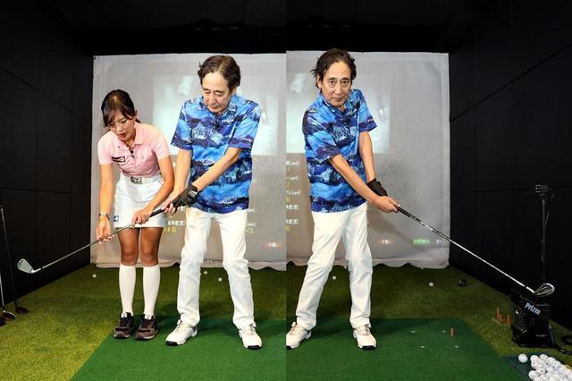 画像: 振り幅を抑えてミート率を高め、ボールを芯で捉える感覚をつかもう