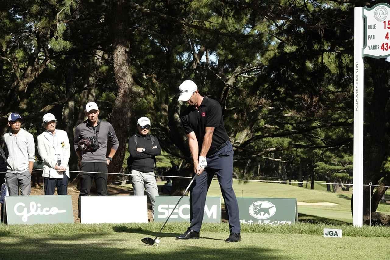 画像: 1番目の画像 - アダム・スコットのドライバー連続写真 - みんなのゴルフダイジェスト