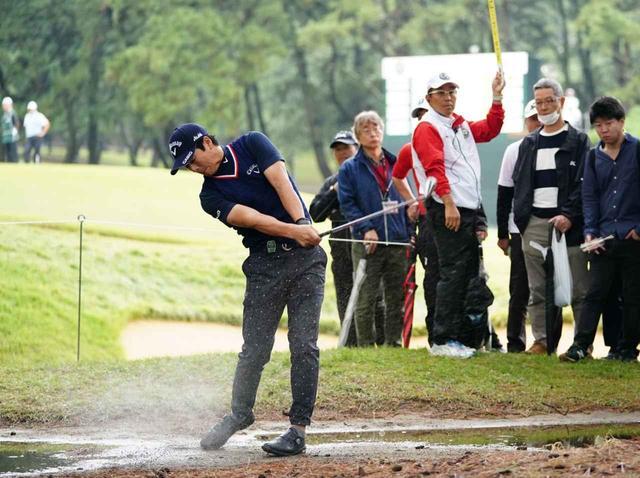 画像: 石川遼は8オーバーで予選通過した、あと2日で巻き返しなるか