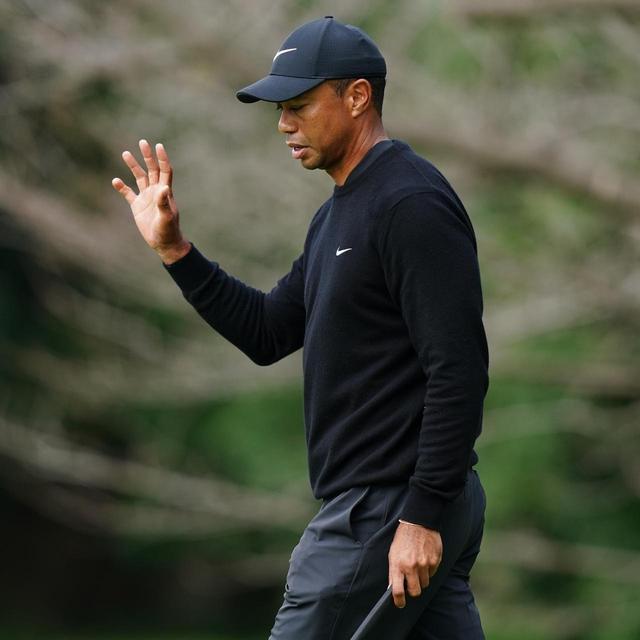 画像: ゴルフ女子・S子の目の前で3連続ボギースタートから9バーディを奪いトップに躍り出る離れ業を見せたタイガー(撮影/姉崎正)