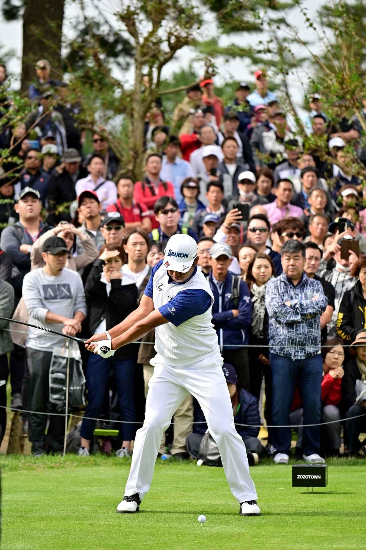 Images : 2番目の画像 - 松山英樹のドライバー連続写真 - みんなのゴルフダイジェスト