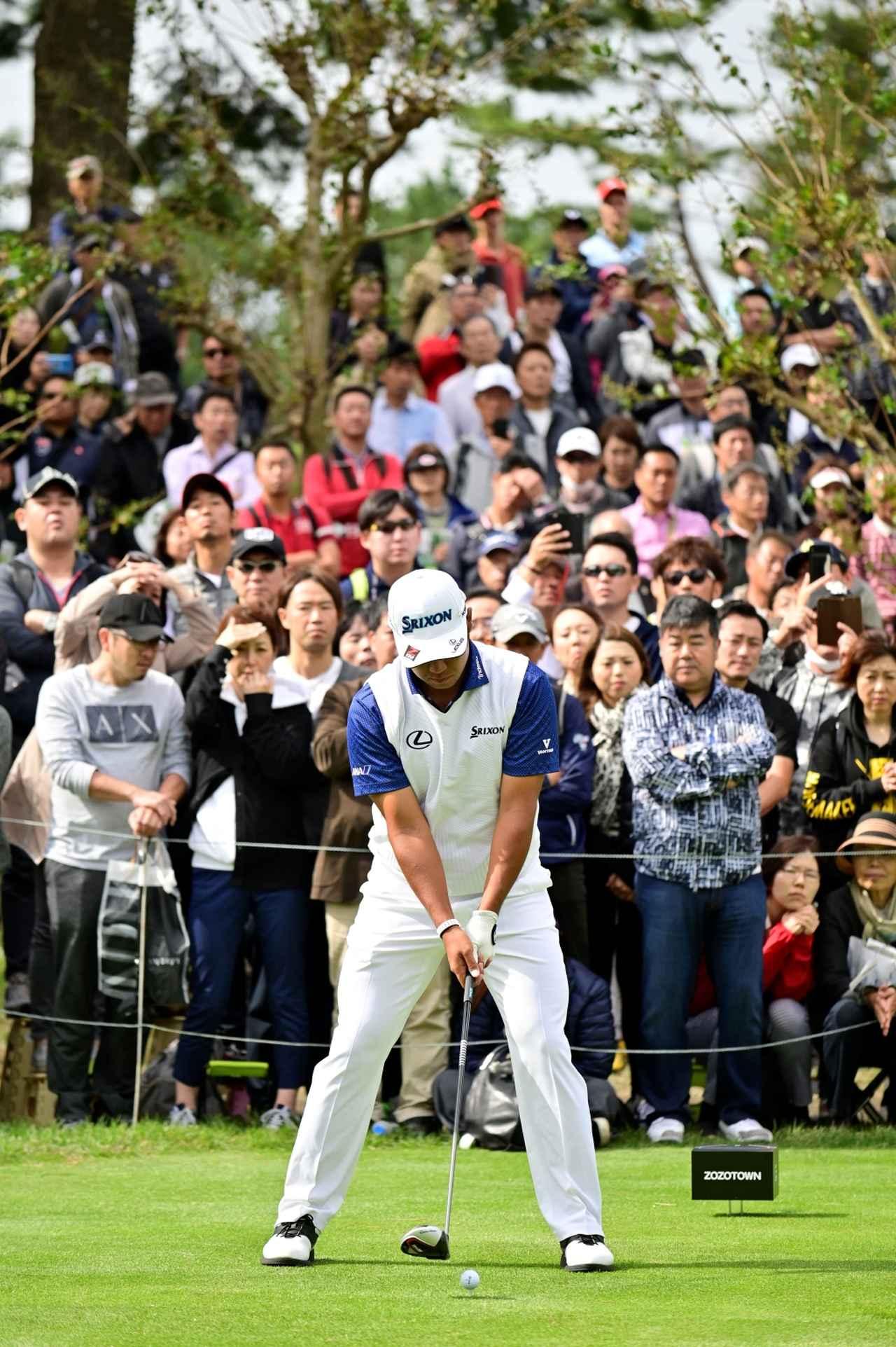 Images : 1番目の画像 - 松山英樹のドライバー連続写真 - みんなのゴルフダイジェスト