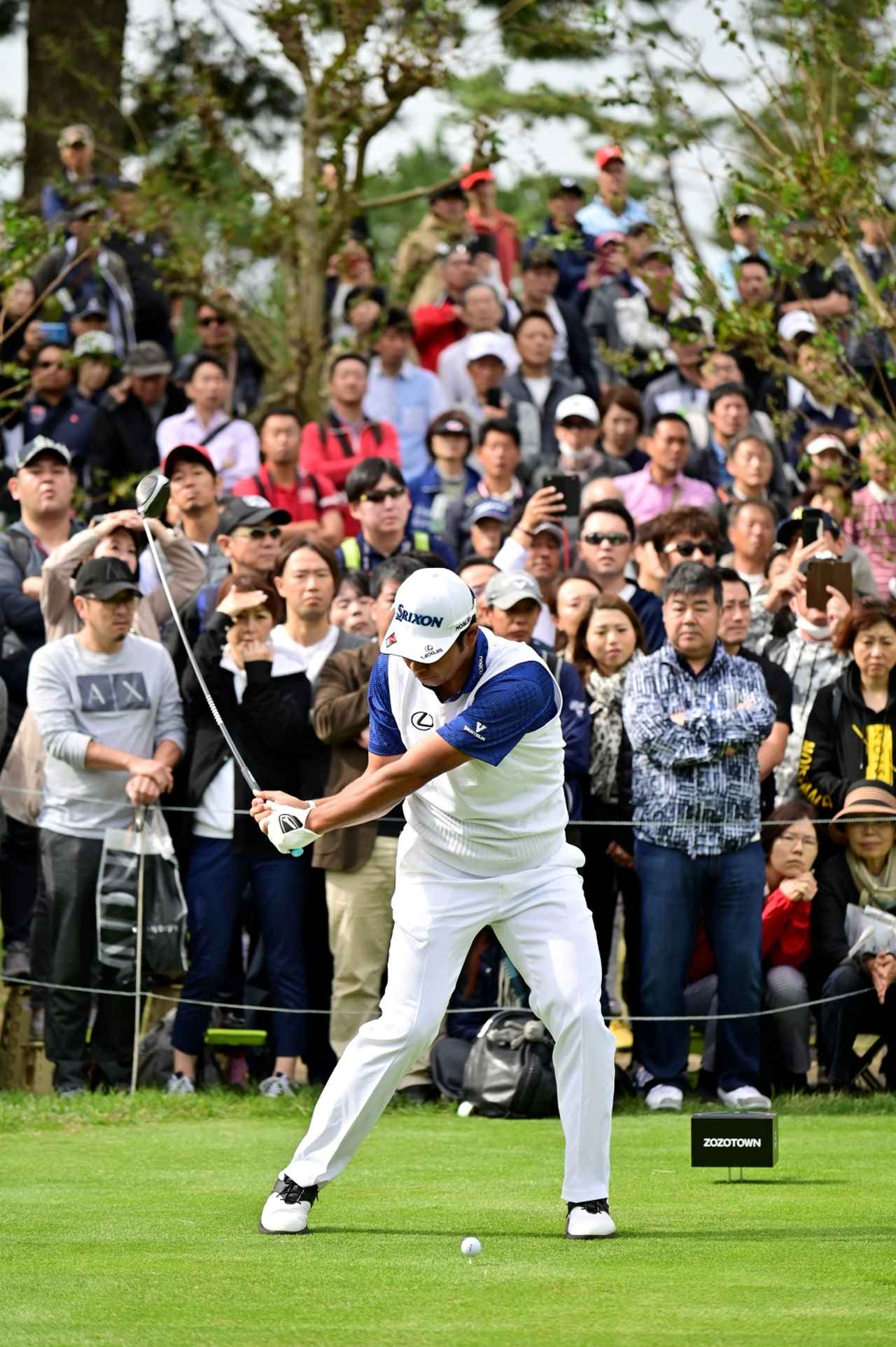 Images : 6番目の画像 - 松山英樹のドライバー連続写真 - みんなのゴルフダイジェスト