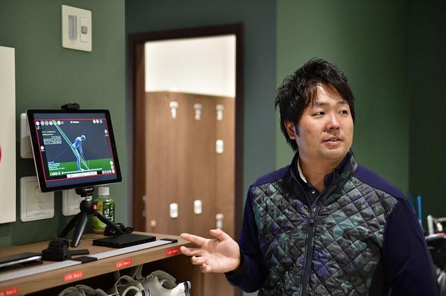 画像: 実際に打ったときの数値を橋本真和さんに科学的に比べてもらった