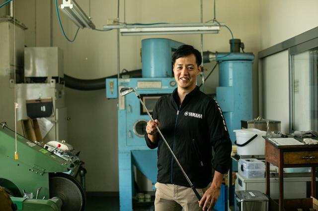 画像: ヤマハ商品開発グループの森輝充氏。開発当初からのテーマは「性能を引き出すこと」だった