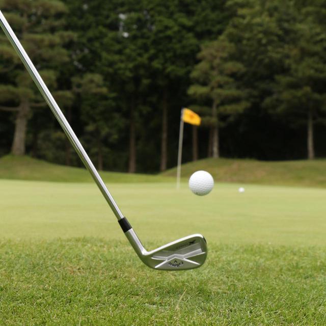 """画像: ゴルフでは""""自分だけの味""""を出すことが大切なのだ(撮影/岩村一男)"""