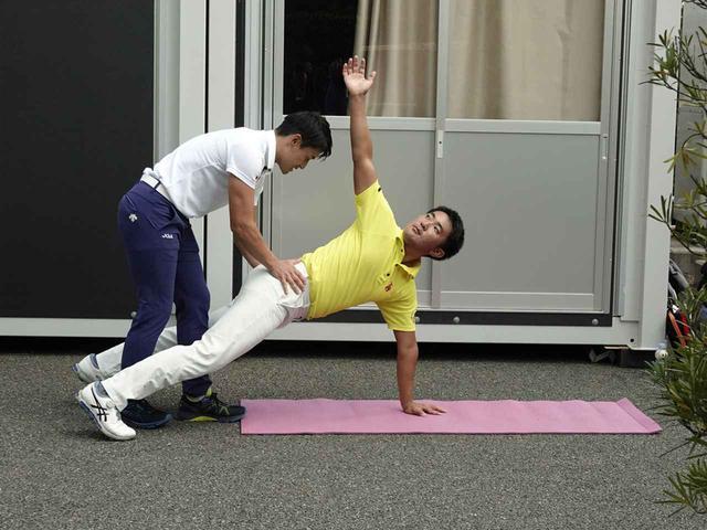 画像: 試合の開催週でも負荷のかかるトレーニングを欠かさず行っていた(写真は2019年の日本オープン)