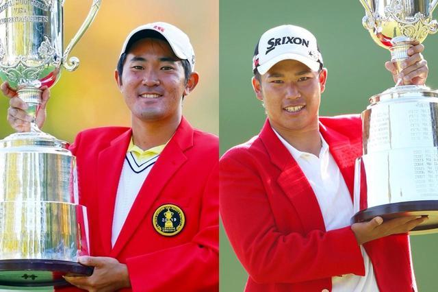 画像: 2011年の松山英樹(左)と2019年の金谷拓実(右)。両者とも三井住友VISA太平洋マスターズでアマチュア優勝を果たしている