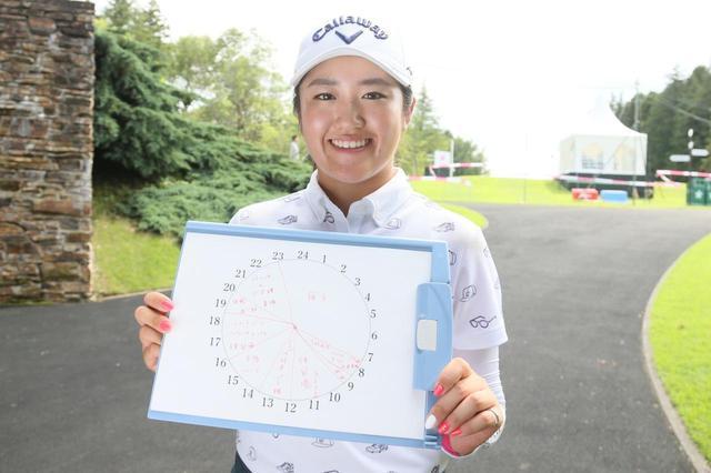 """画像: 「9時から19時まで、練習です」稲見萌寧が10年続ける1日10時間練習の""""時間割"""" - みんなのゴルフダイジェスト"""