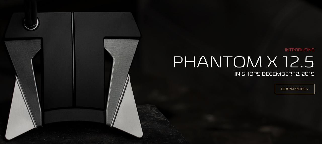 画像: スパイダー的な形状を持つスコッティ・キャメロン「ファントムX 12.5」