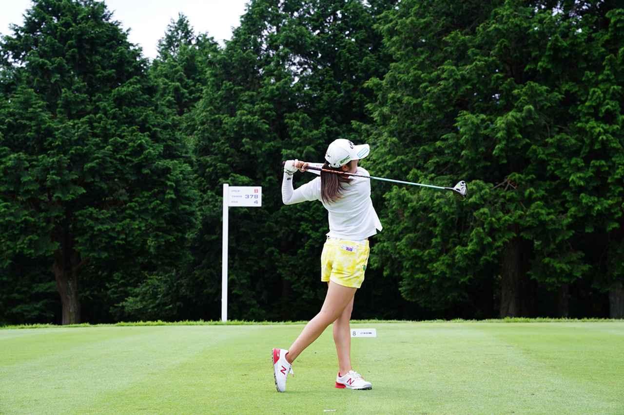 Images : 18番目の画像 - 稲見萌寧のドライバー連続写真 - みんなのゴルフダイジェスト