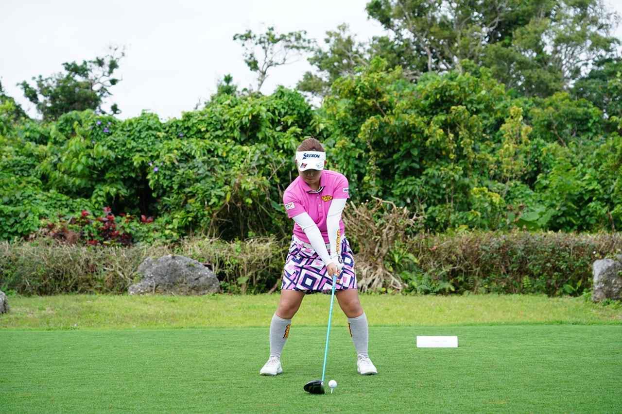 画像: 淺井咲希のドライバー連続写真 - みんなのゴルフダイジェスト