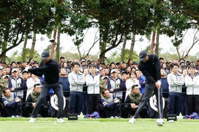 画像: 体の回転でクラブを下ろしながら、地面を蹴り上げてインパクト(写真は2019年のZOZOチャンピオンシップ 撮影/姉崎正)