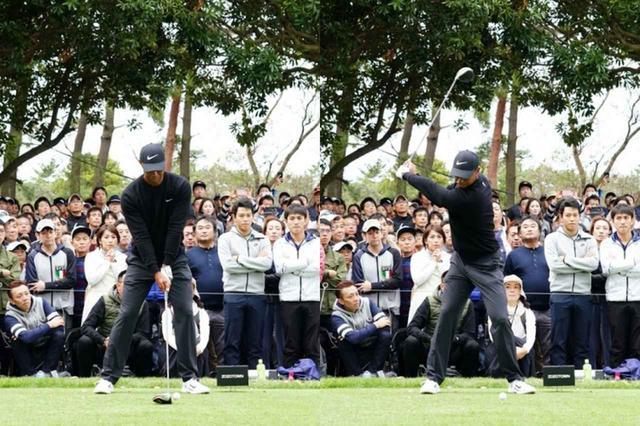 画像: 右腰と左ひざに注目。クラブを上げてもほとんど位置が変わっていない(写真は2019年のZOZOチャンピオンシップ 撮影/姉崎正)