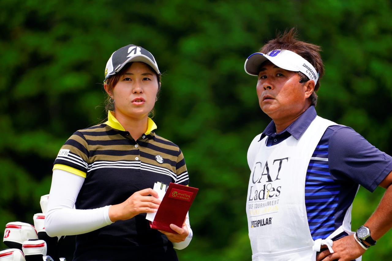 画像: 大里桃子は2番派。キャディー兼コーチも務める父・充さんも2番派だという(写真は2018年のCATレディース 撮影/岡沢裕行)
