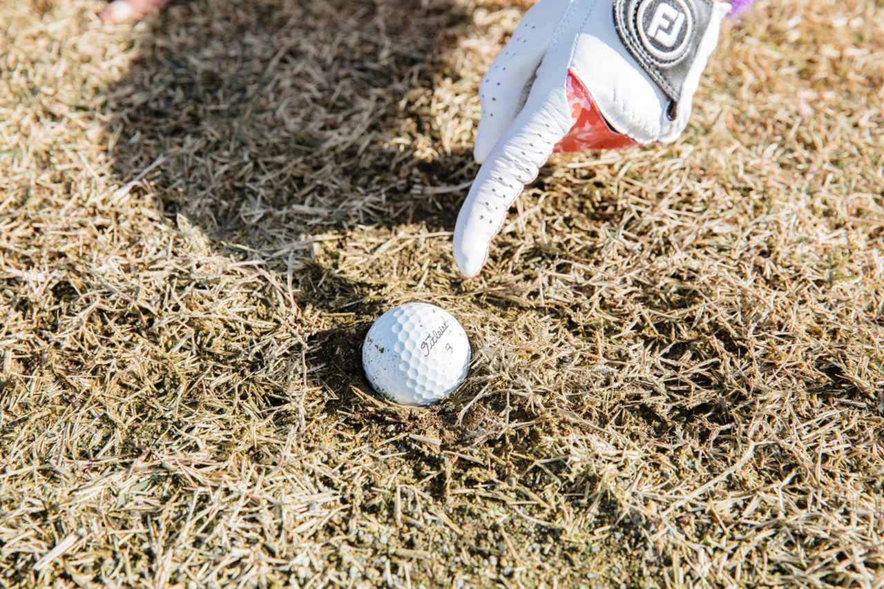 画像: ボールがジェネラルエリアに埋まってしまった場合も無罰で救済されるようになった