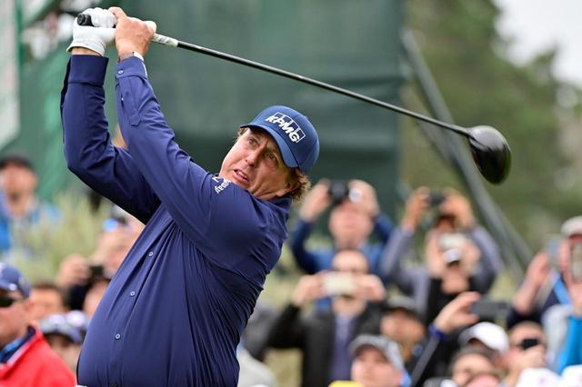画像: タイガーのライバル、フィルミケルソンは7位にランクイン(写真は2019年の全米オープン撮影/有原裕晶)