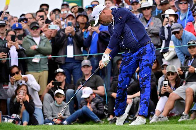 画像: ジャスティン・トーマスは地面反力を使ってヘッドを走らせる代表選手。この動きを取り入れたいと思ったら……どうする!? (2019年全米オープン 撮影/有原裕晶)