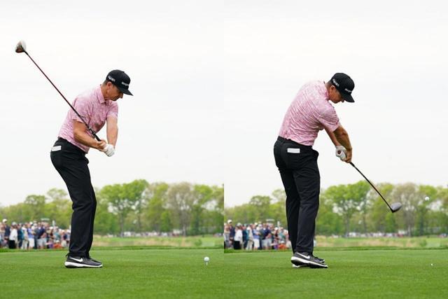 画像: インサイドアウト軌道でボールを捉えているのもローズの特徴のひとつ(写真は2019年の全米プロゴルフ選手権 撮影/姉崎正)