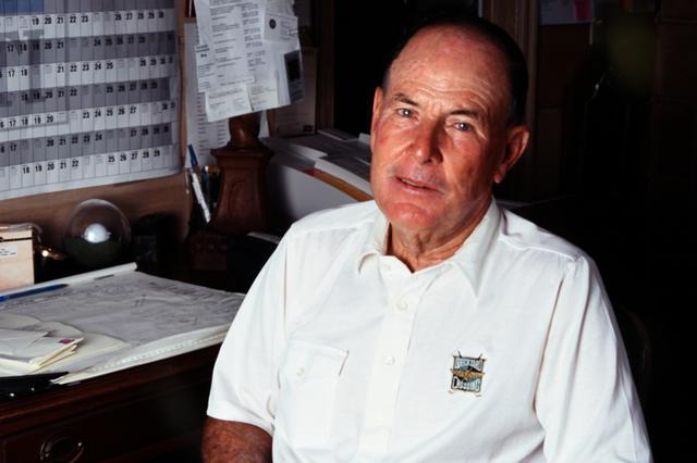 画像: ゴルフ世界殿堂入りをした設計家ピート・ダイ