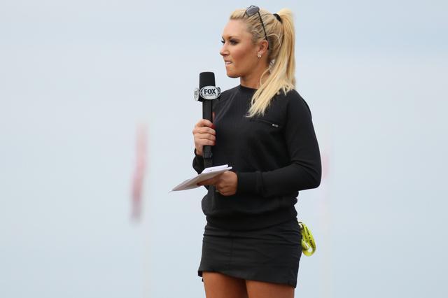 画像: 2015年の全米オープンでラウンドレポーターを務めるなど、活動の幅を広げていたナタリー・ガルビス(撮影/姉崎正)