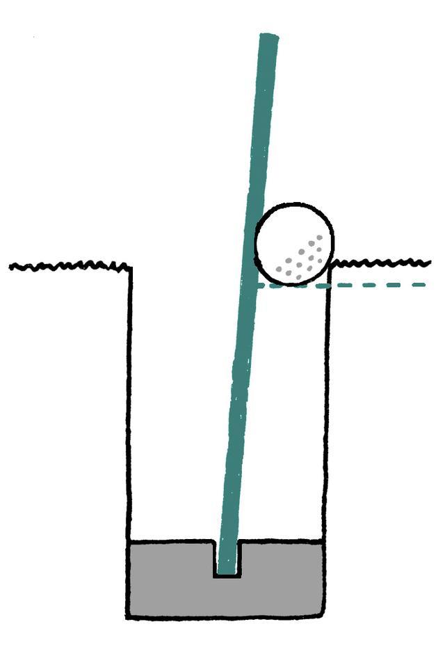 """画像: サッカーのゴール インは""""球が全部 ゴール内""""だが……"""