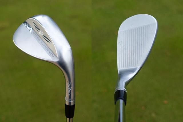 画像: ボーケイウェッジの最新モデル「SM8」(56度、Dグラインド)。バックフェースのデザインはかなりすっきりした