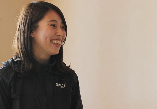 画像: インタビューに応じてくれた前田春香さん