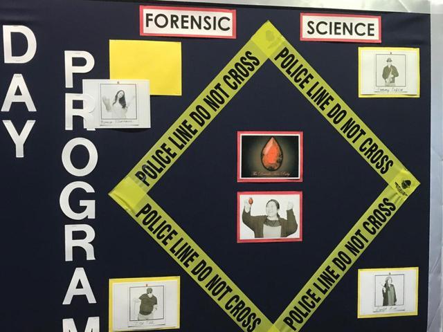 画像: 生徒たちに人気の科目は、犯罪科学だという