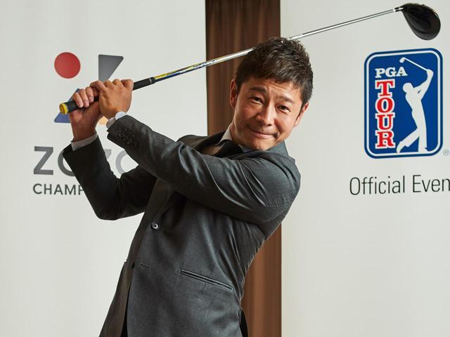画像: ZOZOの前社長・前澤友作氏はベストスコア73の実力を持つレフティゴルファーでもある(撮影/中居中也)