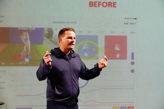 画像: 地面反力の使い方を説明するグレゴリー・レブラ