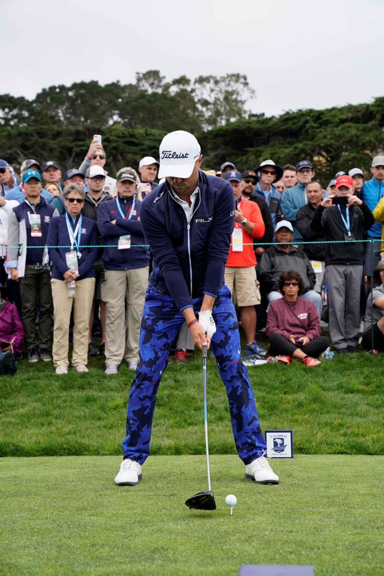 Images : 1番目の画像 - ジャスティン・トーマスのドライバー連続写真 - みんなのゴルフダイジェスト