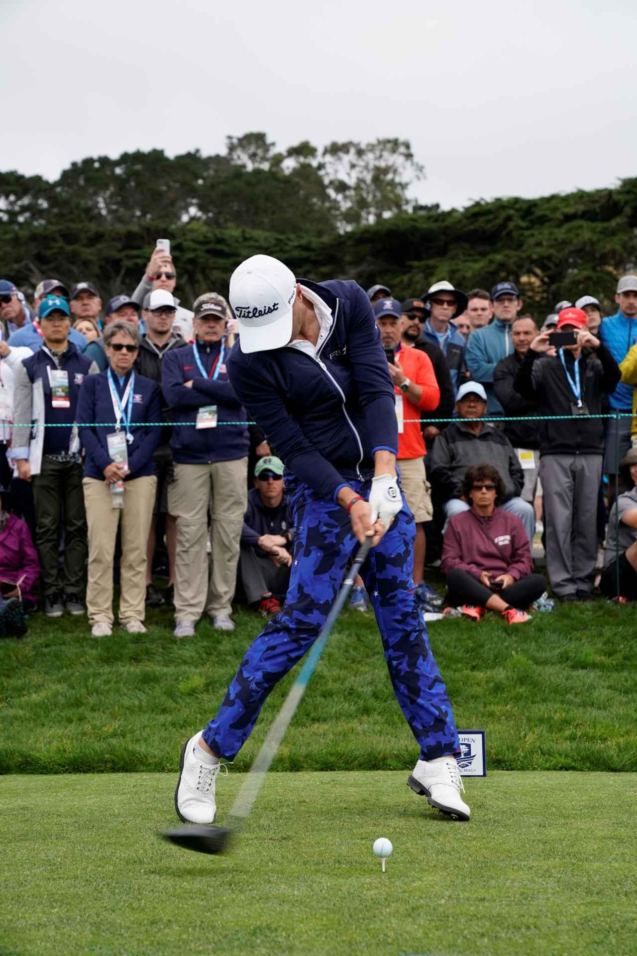 Images : 7番目の画像 - ジャスティン・トーマスのドライバー連続写真 - みんなのゴルフダイジェスト